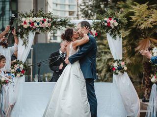 El matrimonio de Cristina y Cristian