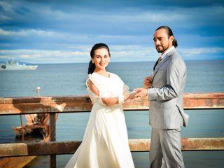 El matrimonio de Victoria y Gabriel