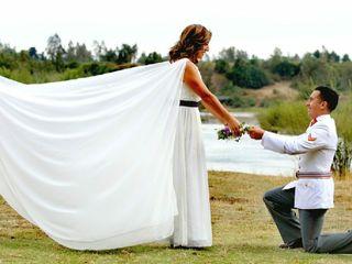 El matrimonio de Cristina y Ariel