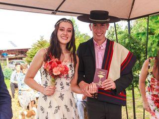 El matrimonio de Leslie y Nicolás