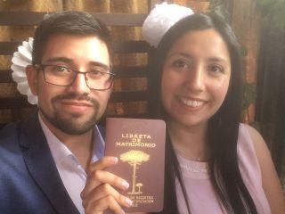El matrimonio de Esteban y Andrea