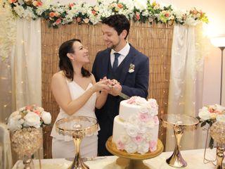 El matrimonio de María Laura y Juan