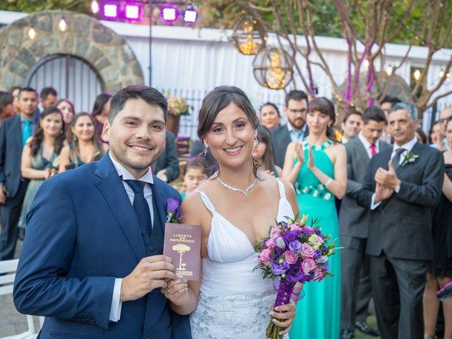 El matrimonio de María Jesús y Álvaro