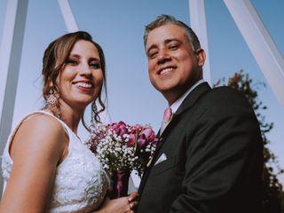 El matrimonio de Fernanda y Mike