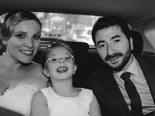 El matrimonio de Jimena  y Cristian