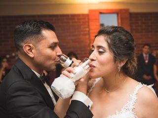 El matrimonio de Claudia y Nicolas