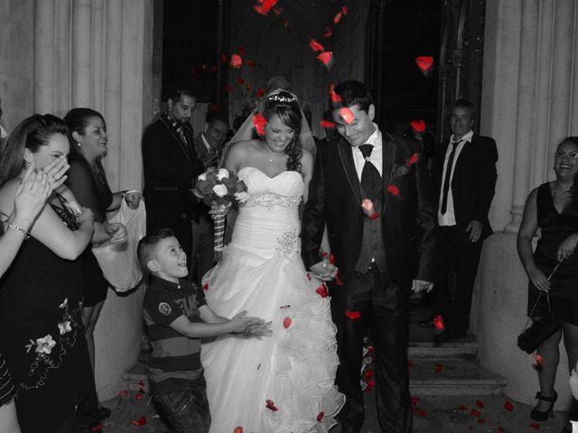 El matrimonio de Loreto y Rafael