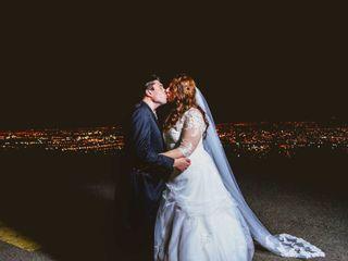 El matrimonio de Andrea y Cristián