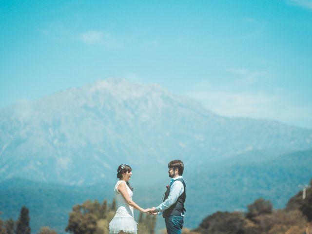 El matrimonio de Deborah Durán y Ronald Mackenzie