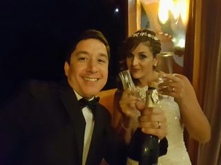 El matrimonio de Violeta  y Humberto