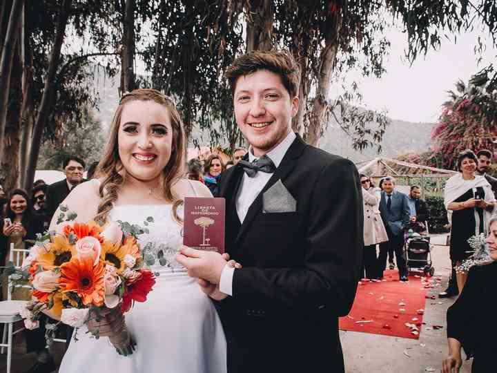El matrimonio de Javiera y Ariel