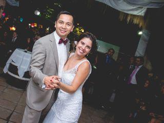 El matrimonio de María Paz y Pedro