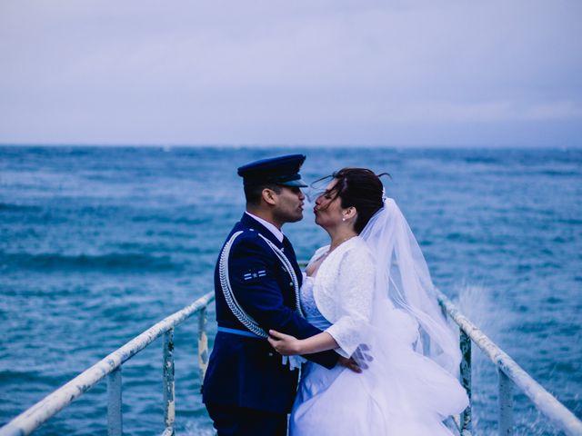El matrimonio de Yasna y Roberto