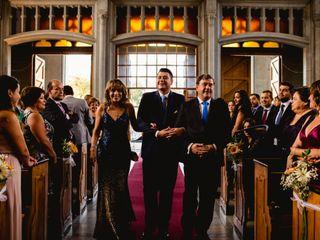 El matrimonio de Claudio y Paz 3