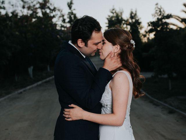 El matrimonio de Natalia y Braulio