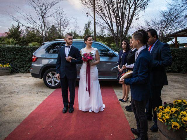 El matrimonio de Claudio y María de los Ángeles en Graneros, Cachapoal 18