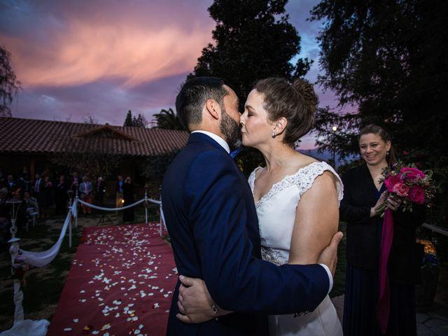 El matrimonio de Claudio y María de los Ángeles en Graneros, Cachapoal 35