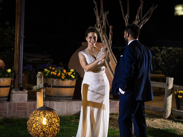 El matrimonio de María de los Ángeles y Claudio