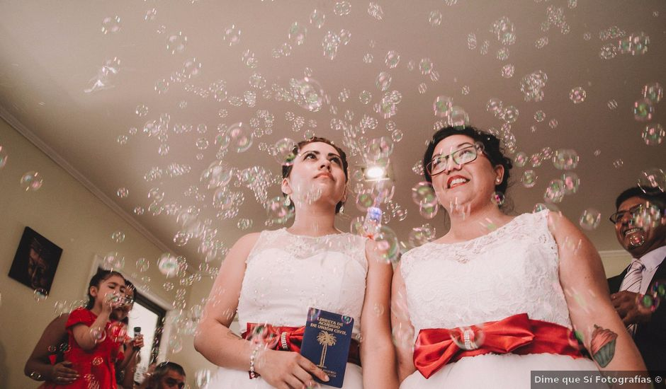 El matrimonio de Jean y Glora en Quillota, Quillota