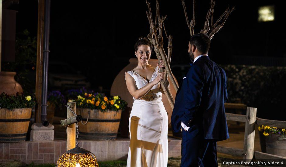 El matrimonio de Claudio y María de los Ángeles en Graneros, Cachapoal