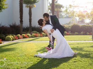 El matrimonio de Gonzalo Riqueros  y Charlotte Villarroel 1