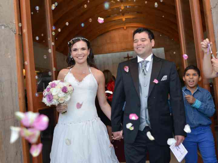 El matrimonio de Vicky y Sergio