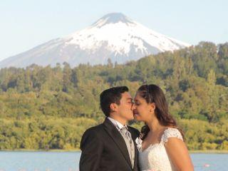 El matrimonio de Felipe y Roxana 1