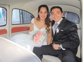 El matrimonio de Felipe y Roxana