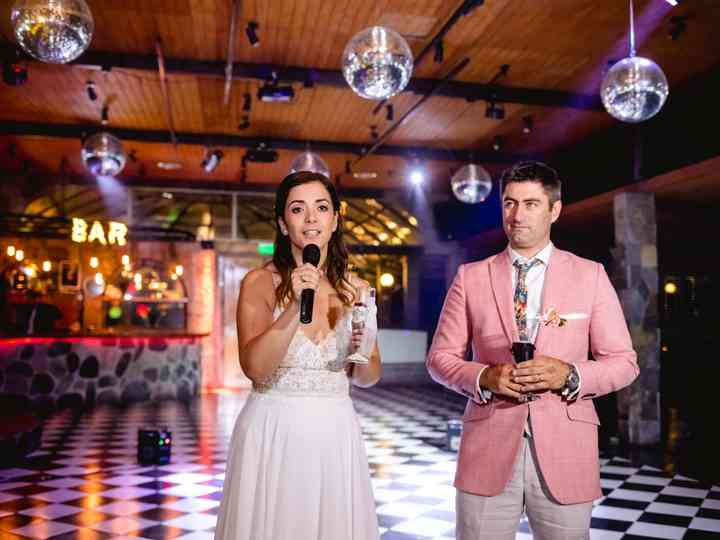 El matrimonio de Cata y Ricardo
