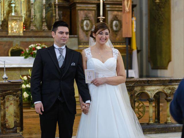 El matrimonio de Joselyn  y Carlos