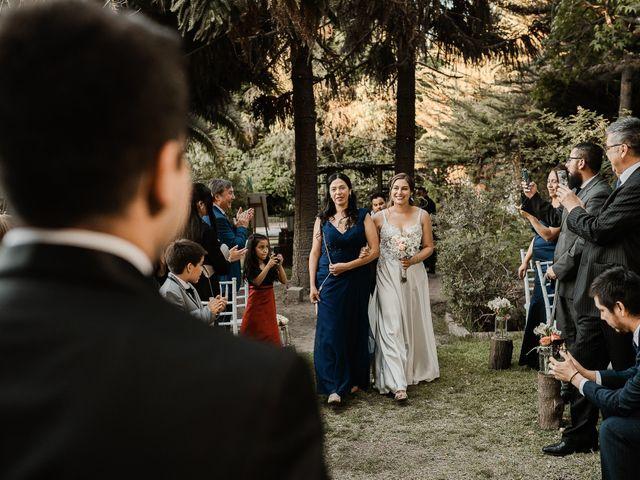 El matrimonio de Ramón y Bárbara en San Bernardo, Maipo 58