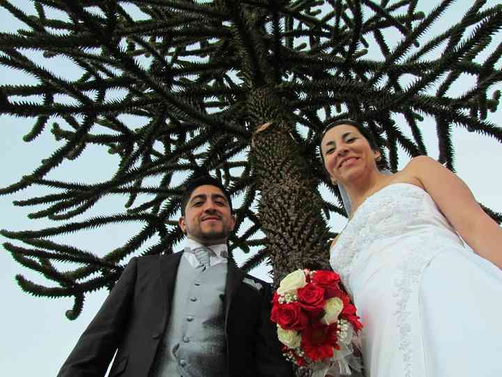 El matrimonio de Yessenia  y Ulises