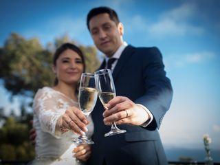 El matrimonio de Paulina y Robinson
