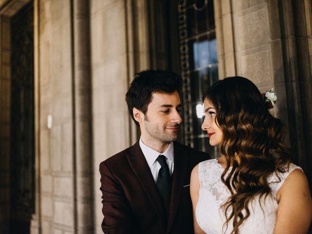El matrimonio de Amanda y Marcelo