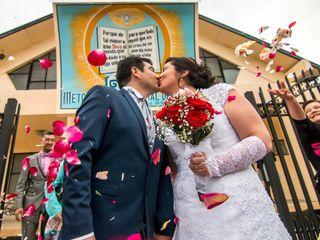 El matrimonio de Francisca  y Rodrigo  1