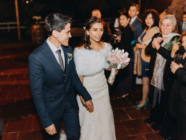 El matrimonio de Matias y Paula en Pirque, Cordillera 74