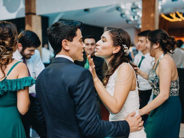 El matrimonio de Matias y Paula en Pirque, Cordillera 124
