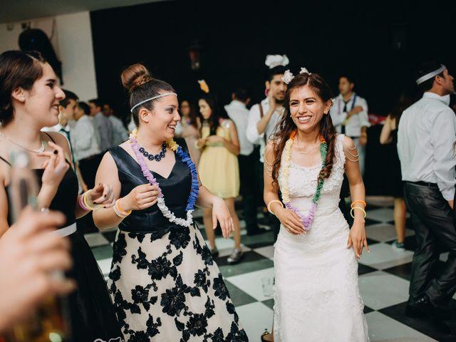 El matrimonio de Matias y Paula en Pirque, Cordillera 187