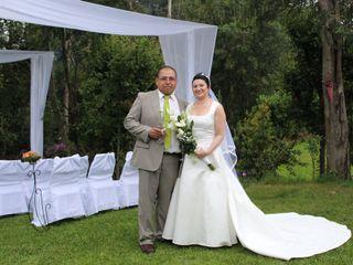 El matrimonio de Carol y Andrés