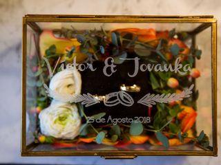 El matrimonio de Jovanka y Victor 1
