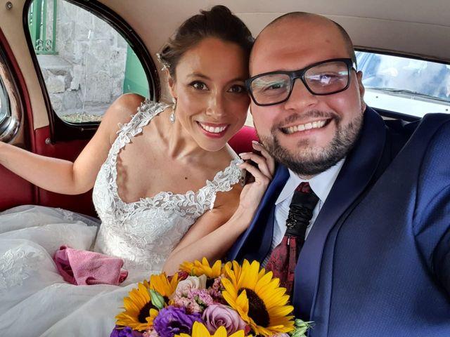 El matrimonio de Belén  y Jaime