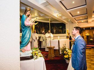 El matrimonio de Cristian y Tamara  1