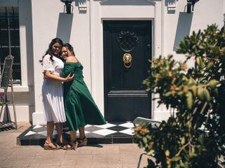 El matrimonio de Daniela  y Anabell  2