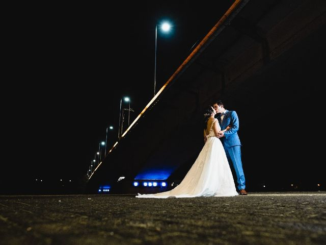 El matrimonio de Cristian y Tamara
