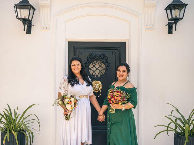 El matrimonio de Daniela  y Anabell
