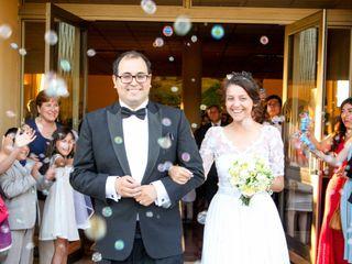 El matrimonio de Elizabeth y Alfredo