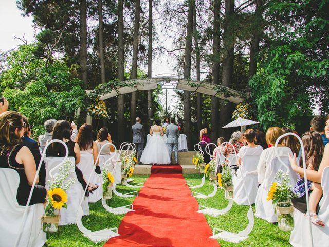 El matrimonio de Jacqueline y Fernando