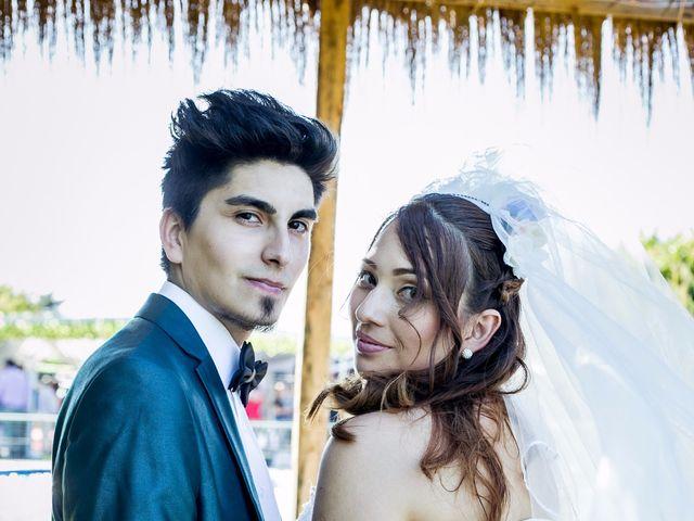 El matrimonio de Ayleen y David