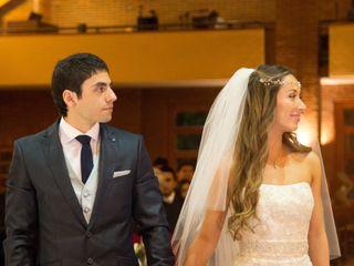 El matrimonio de Rodrigo y Pía