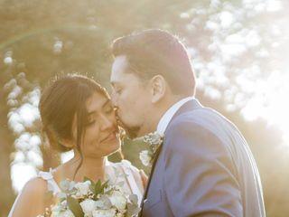 El matrimonio de Angélica  y Pablo